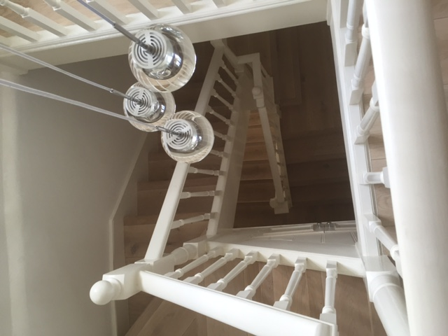 Original Staircase With New Understair Storage in Queen's Park 2