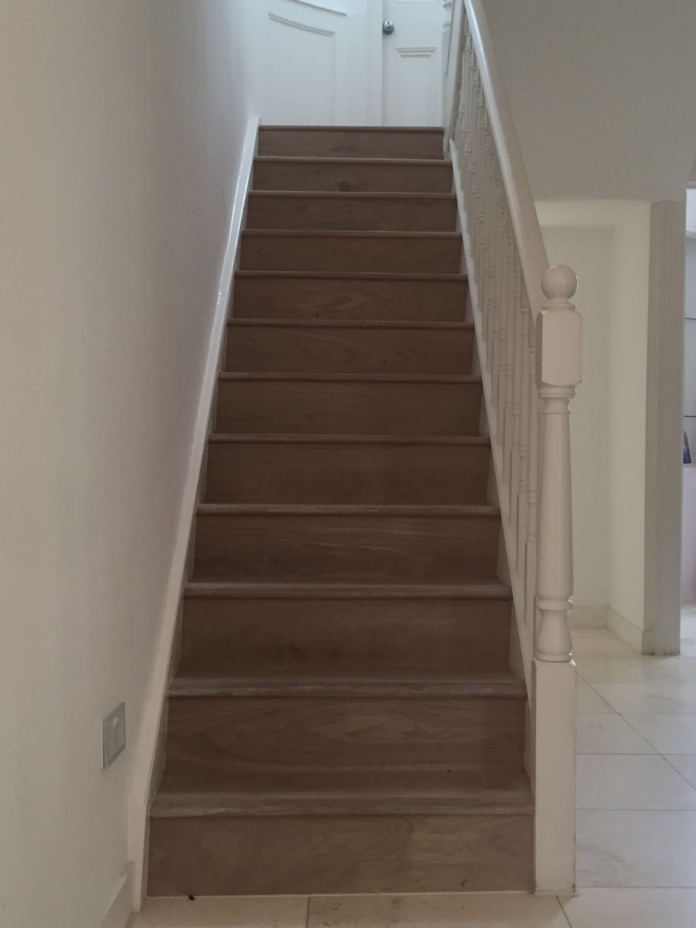 Hardwood Staircase in Greenwich 2