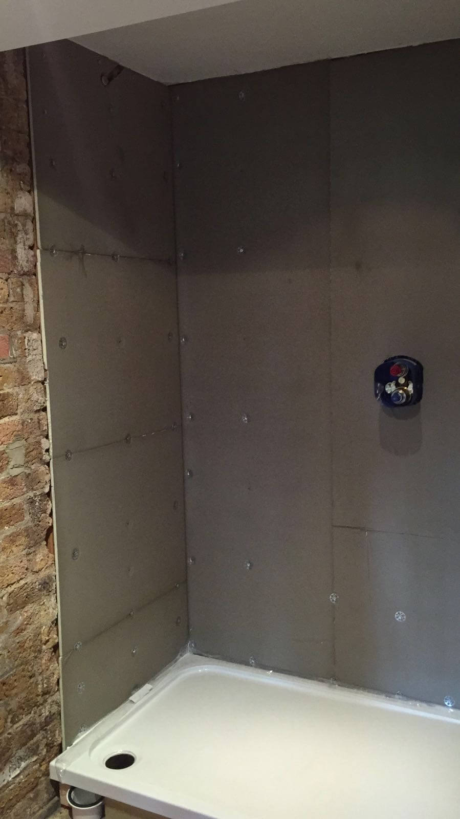 Shower Room Installation in East London 1