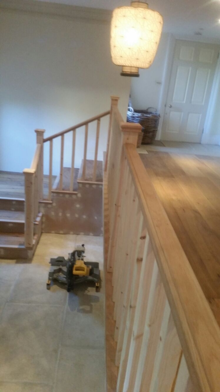New Landing and Staircase in Chelsea 1