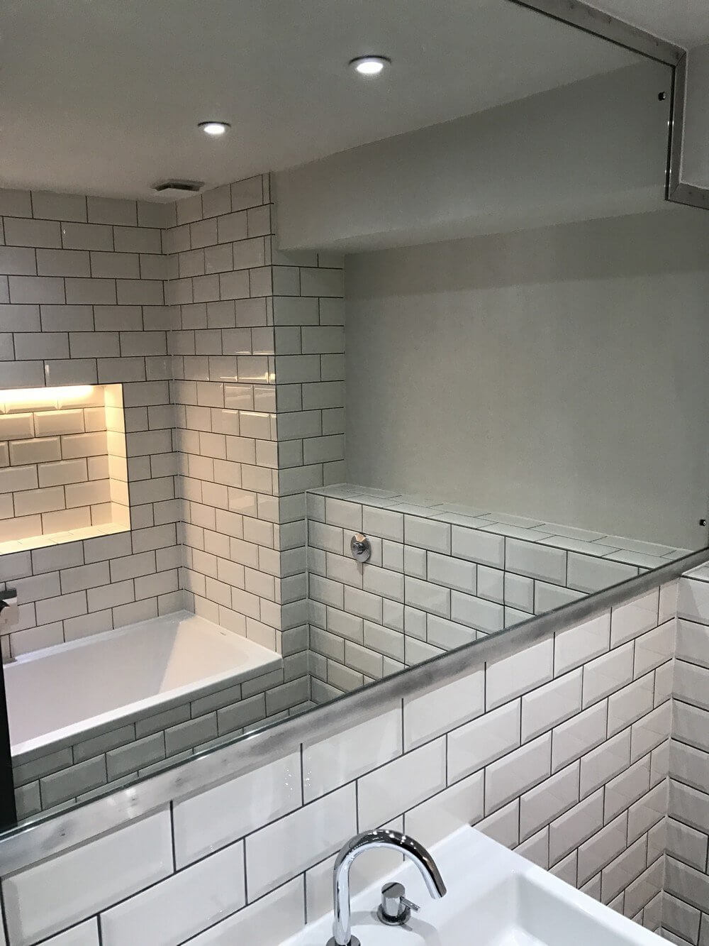 Bath and Shower Room Renovation in East London 2