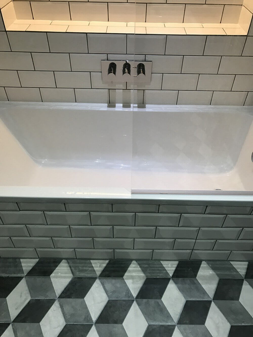 Bath and Shower Room Renovation in East London 4