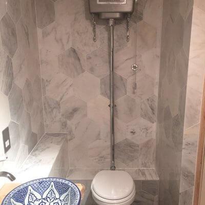 Full Bathroom Renovation in East London