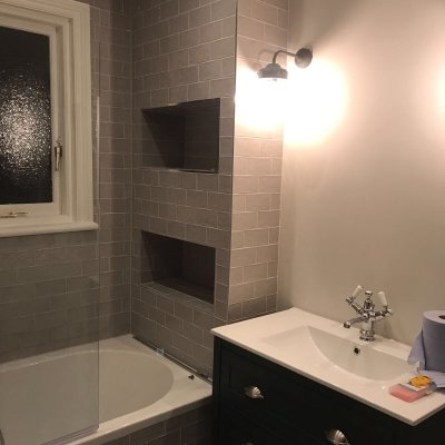Bath and Shower Room with Installation in Fulham