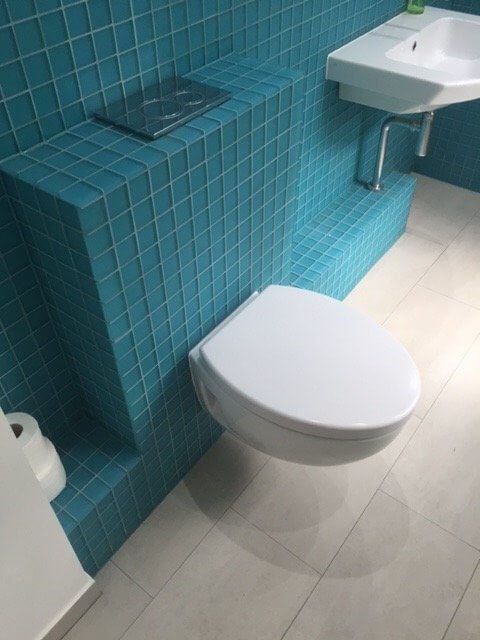 Shower Room, Basin and Toilet Installation in Greenwich 2