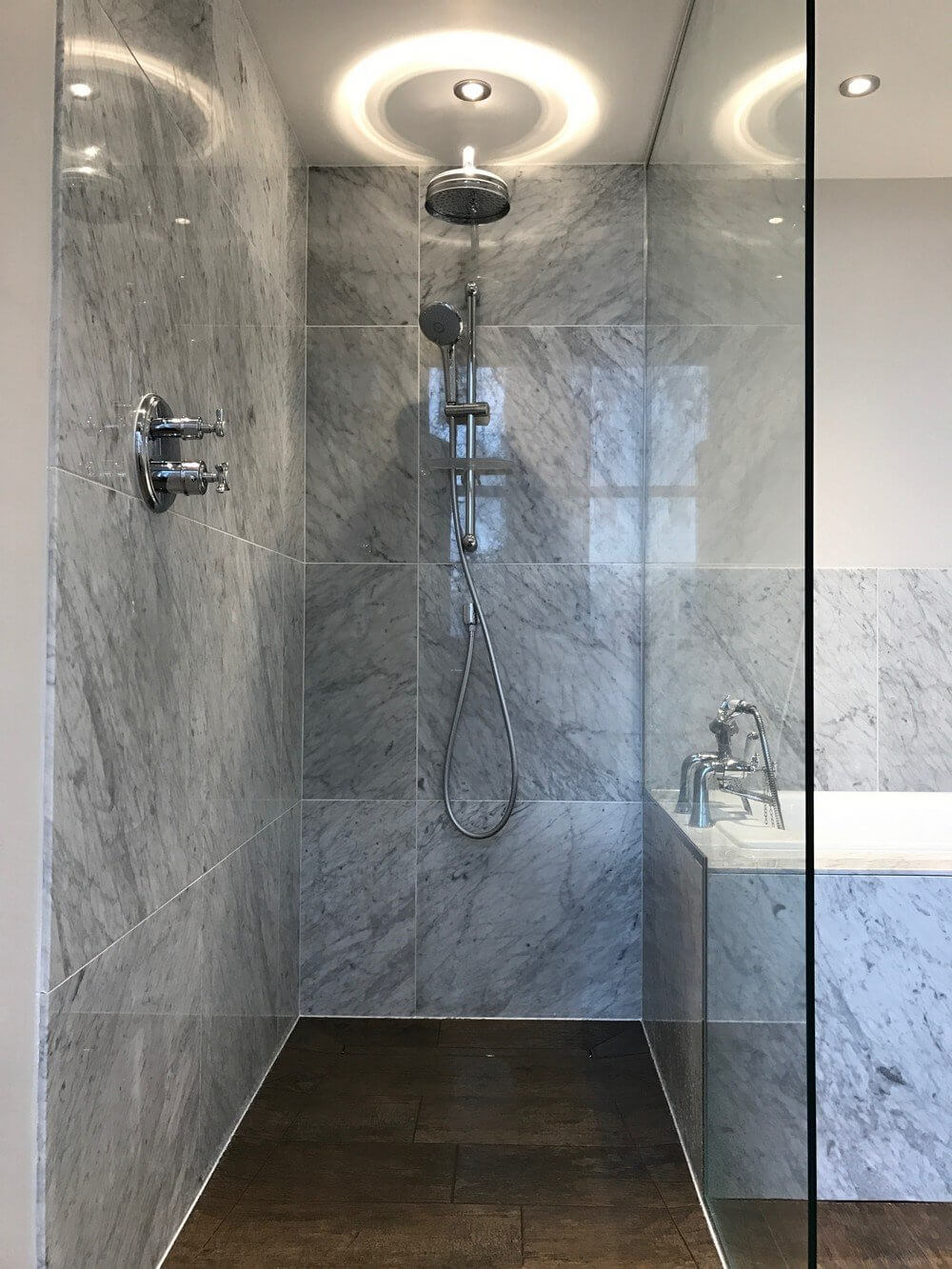 Wet Room and Bath Installation in South Kensington 2