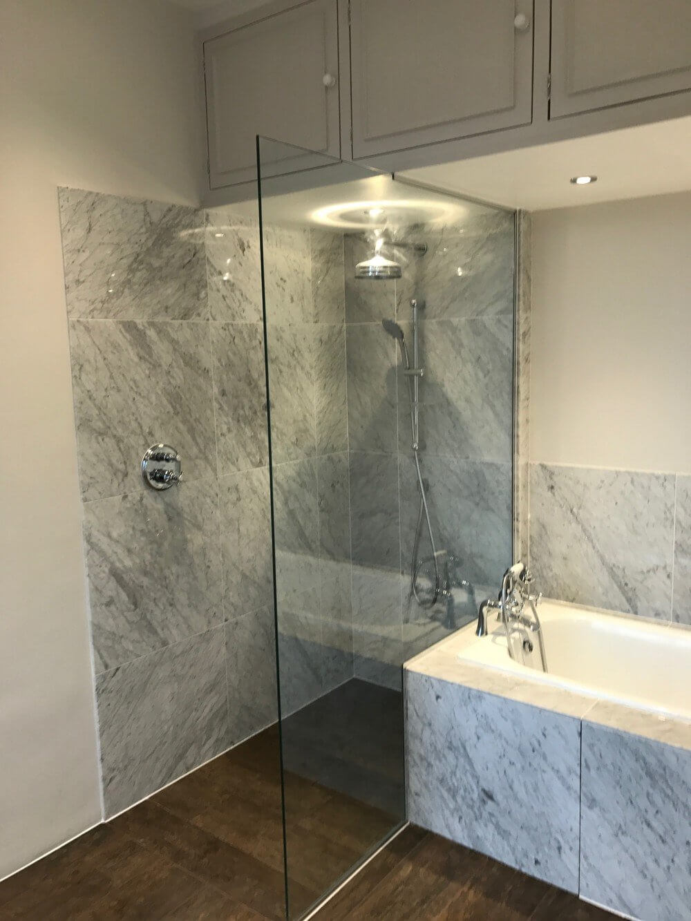 Wet Room and Bath Installation in South Kensington 3