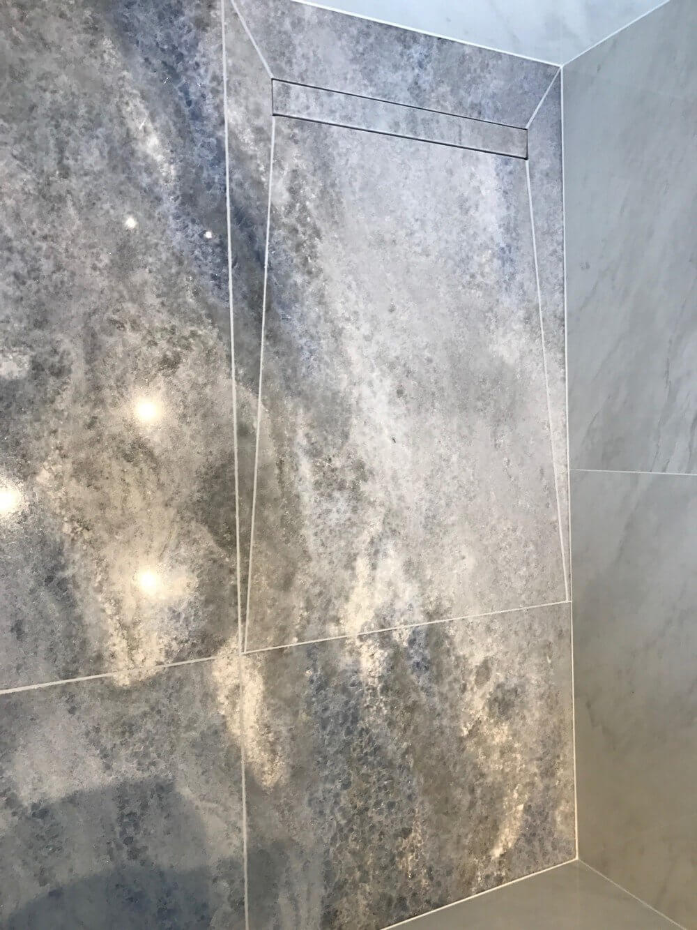 Marble Shower Room Installation in South West London 2