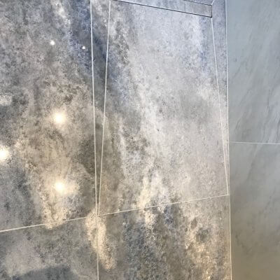 Marble Shower Room Installation in South West London Thumbnail