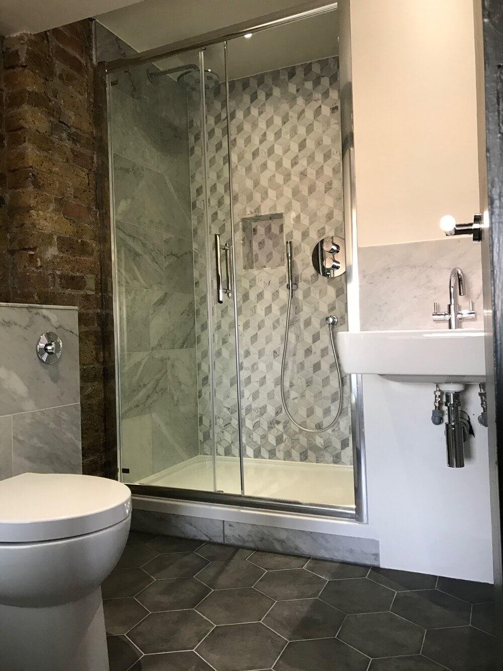 Shower Room Installation in East London 5