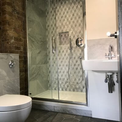 Shower Room Installation in East London Thumbnail