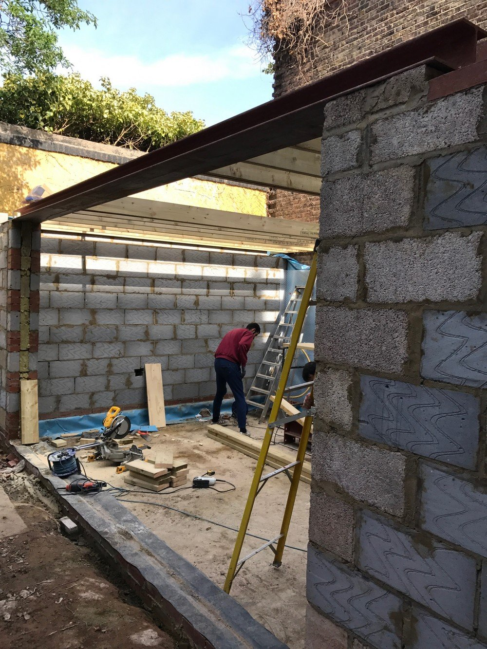 W12 – Gut and Re Build, Tanking, Steels, Walls, Repipe, Re Wire, Bathrooms, Kitchen, Utility 40