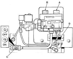 Gas MK3 Burner (Maxitrol)
